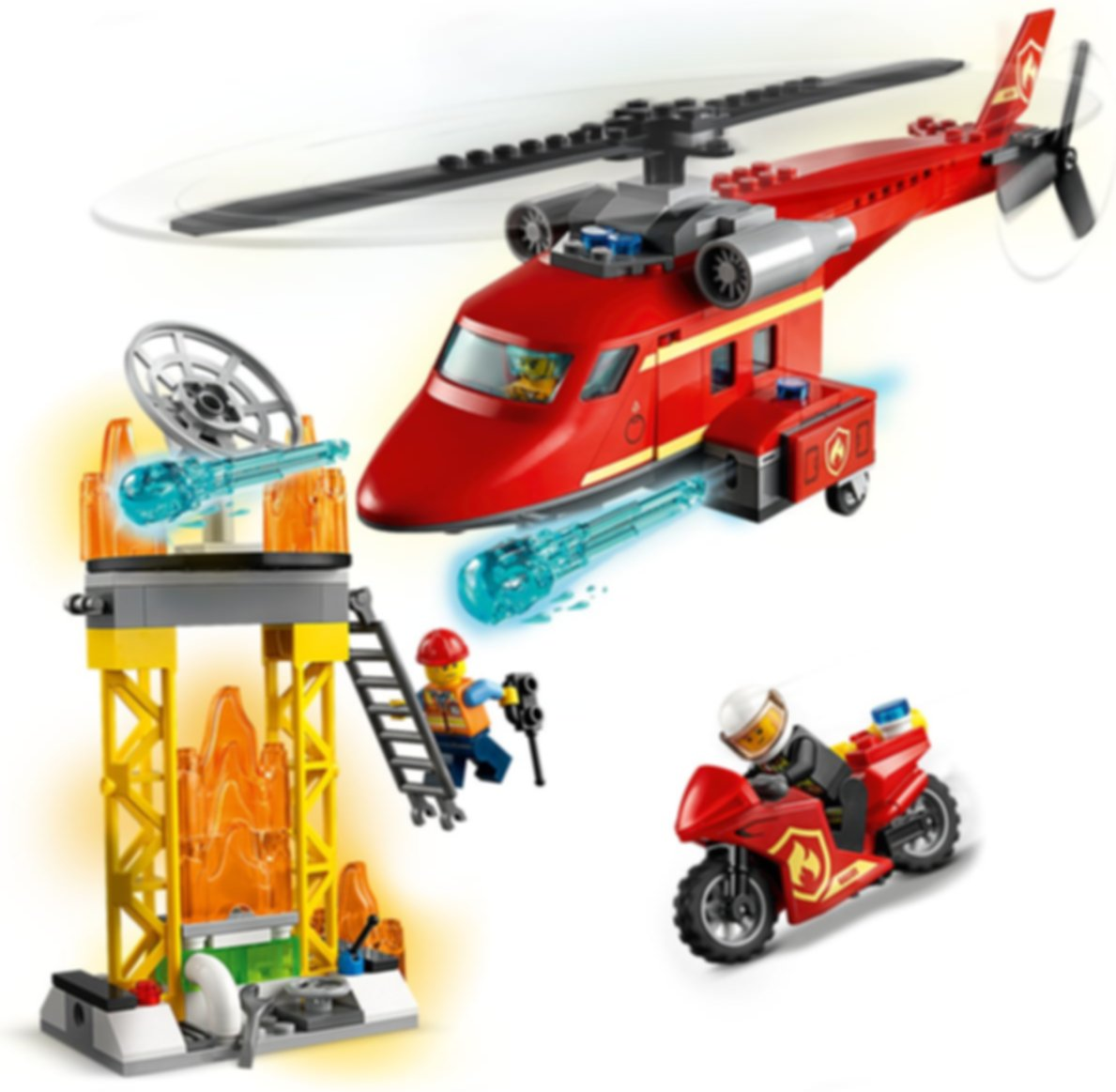 LEGO® City Fire Rescue Helicopter gameplay