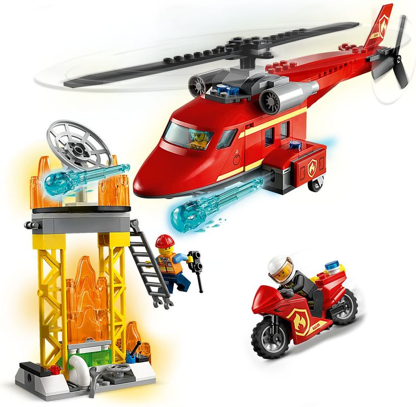 Fire Rescue Helicopter gameplay