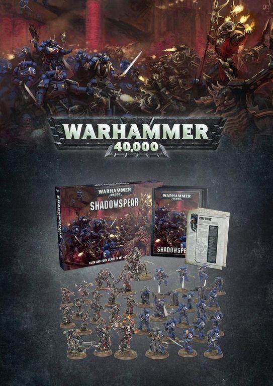 Warhammer 40,000: Shadowspear components