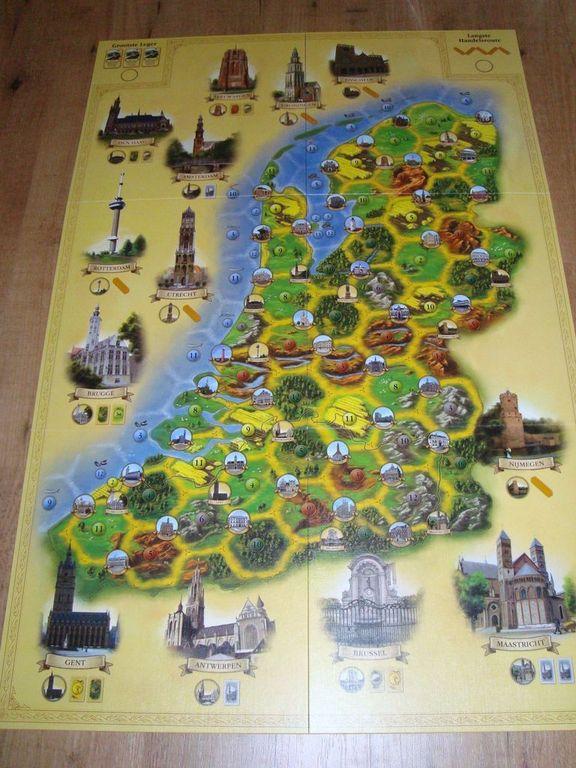 De Kolonisten van de Lage Landen game board