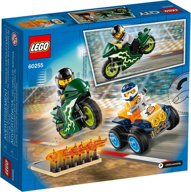 LEGO® City Stunt Team back of the box