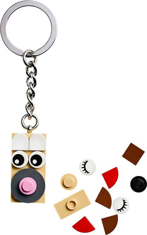 Creative Bag Charm components