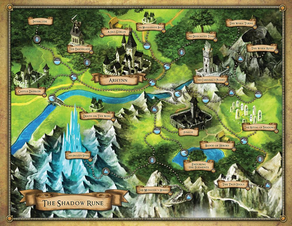Descent: Viaggi nelle Tenebre (Seconda Edizione) tavolo da gioco
