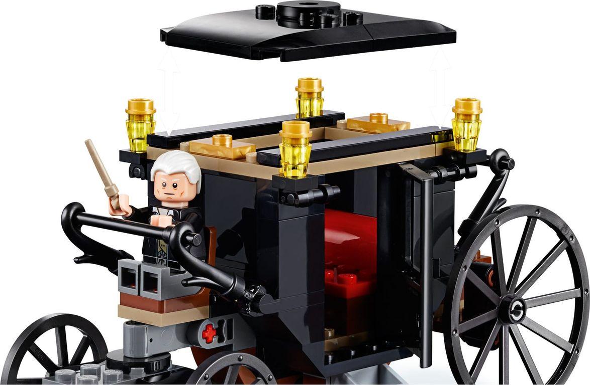 LEGO® Harry Potter Grindelwald's Escape components
