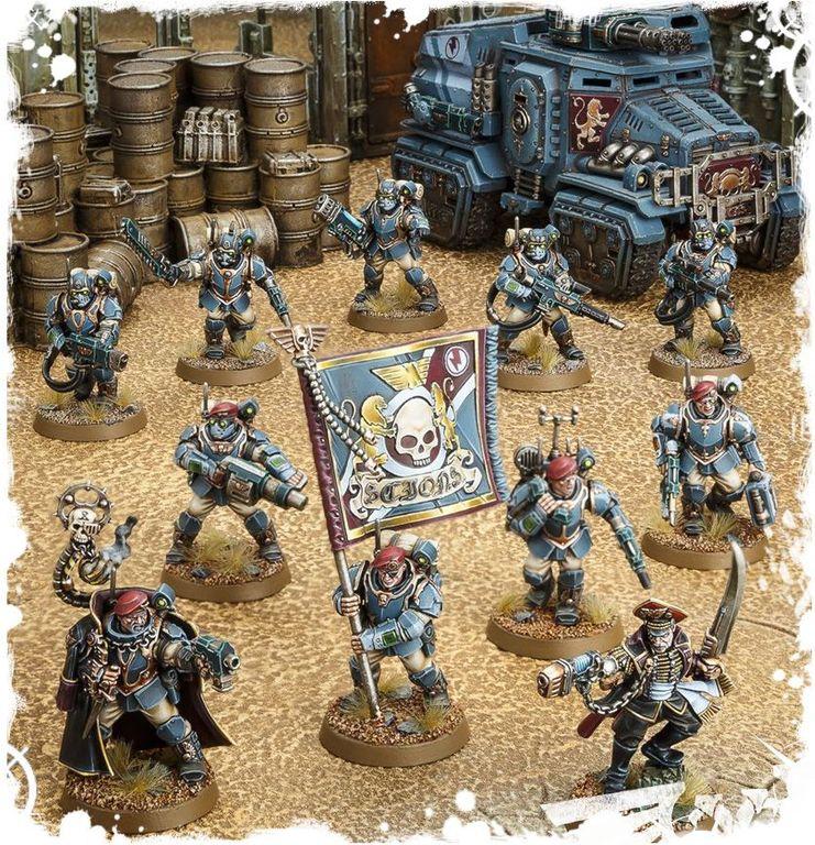 Warhammer 40.000 Start Collecting! Militarum Tempestus miniatures