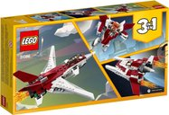 LEGO® Creator Futuristic Flyer back of the box