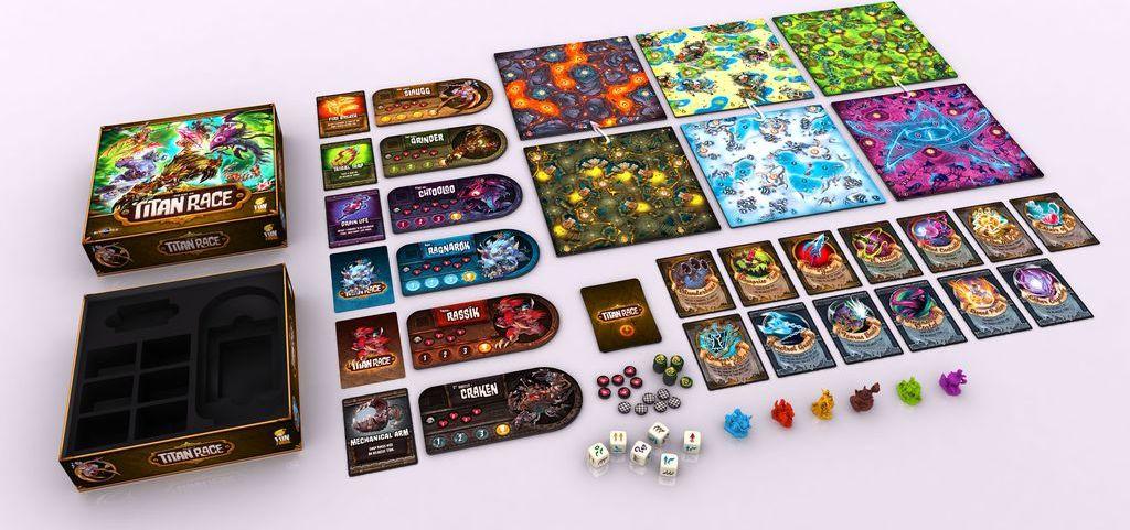 Titan Race components
