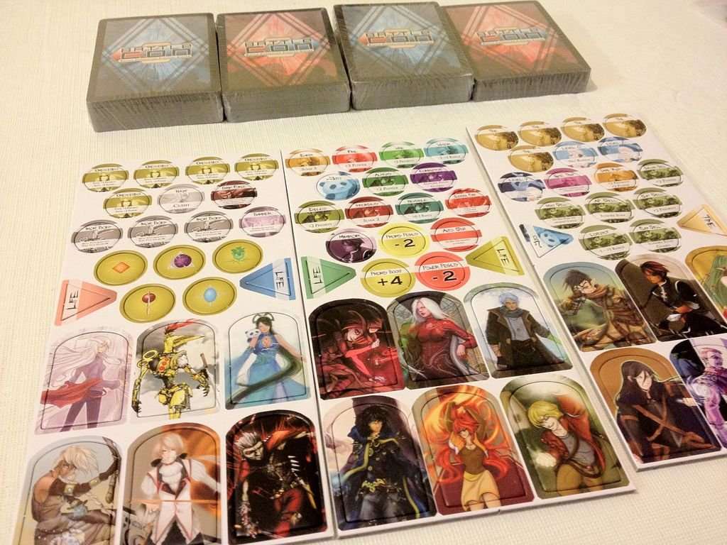BattleCON: War of Indines components
