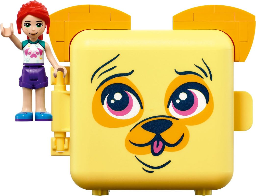 Mia's Pug Cube box