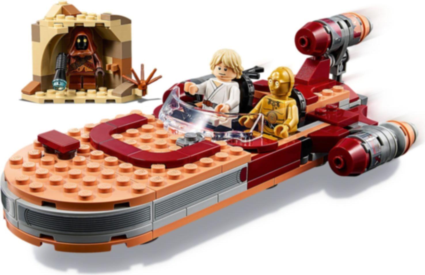 LEGO® Star Wars Luke Skywalker's Landspeeder™ gameplay
