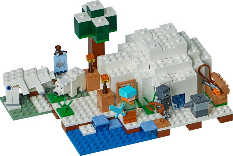 The Polar Igloo components