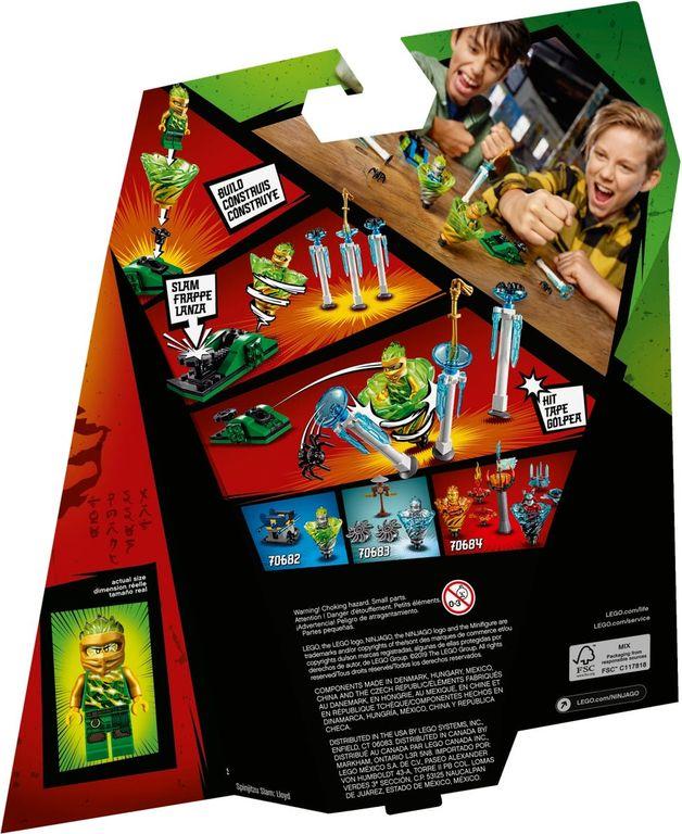LEGO® Ninjago Spinjitzu Slam Lloyd back of the box
