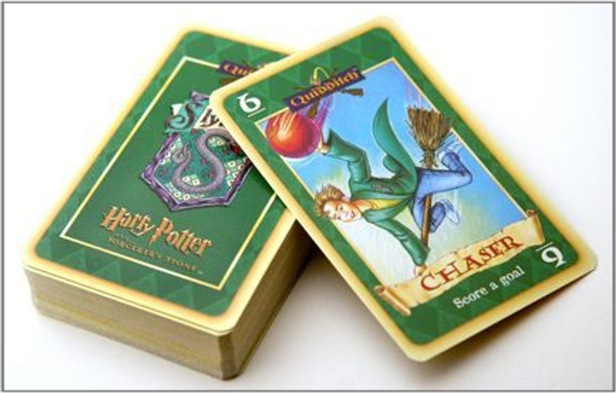 Harry Potter and the Sorcerer's Stone Quidditch Card Game cards