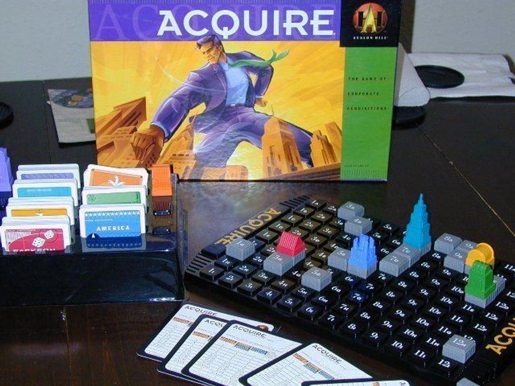 Acquire components