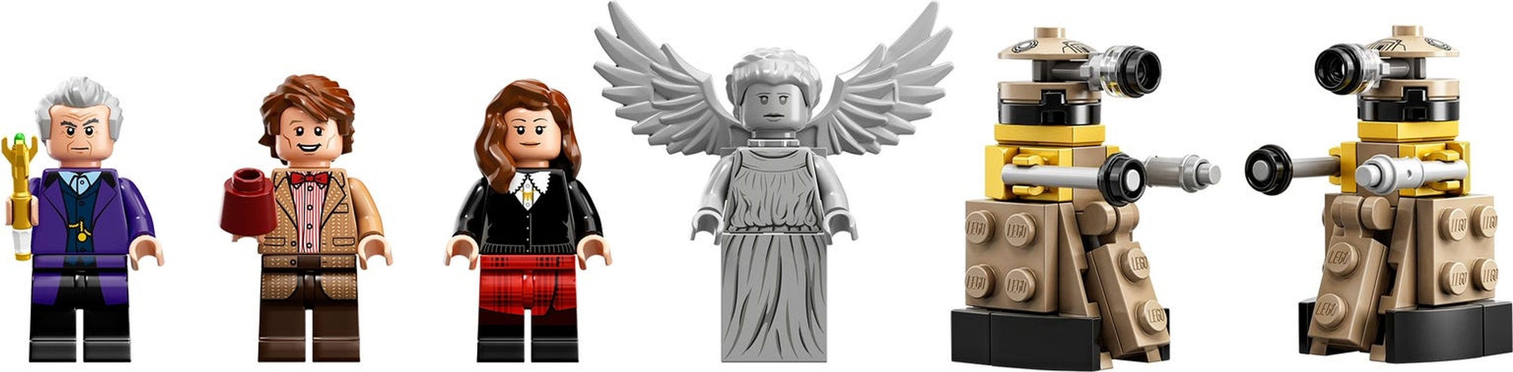 LEGO® Ideas Doctor Who minifigures