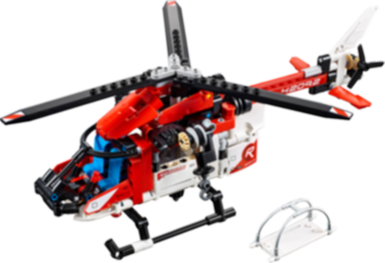 Rescue Helicopter components