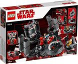 LEGO® Star Wars Snoke's Throne Room back of the box
