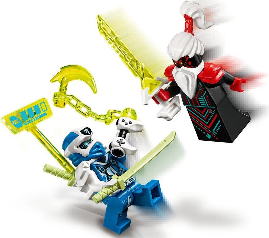 LEGO® Ninjago Jay's Cyber Dragon minifigures