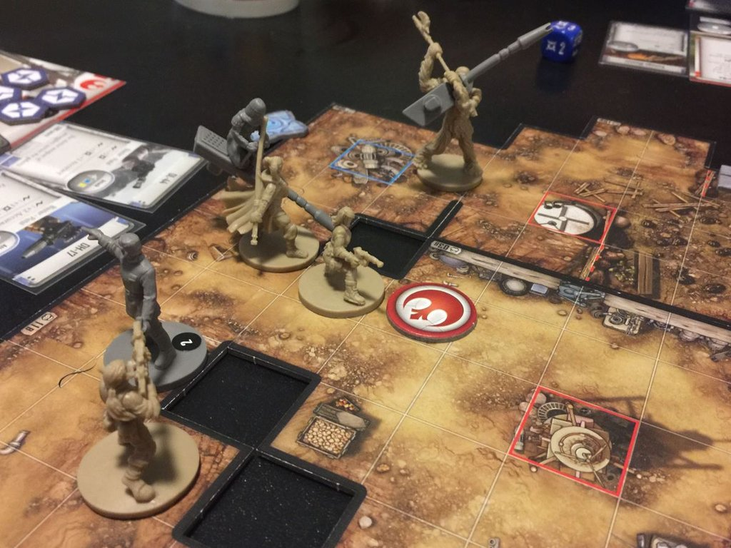 Star Wars: Imperial Assault - Return to Hoth gameplay