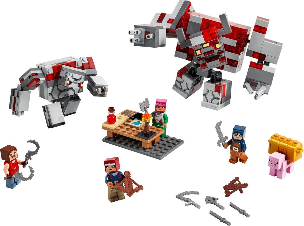 LEGO® Minecraft The Redstone Battle components