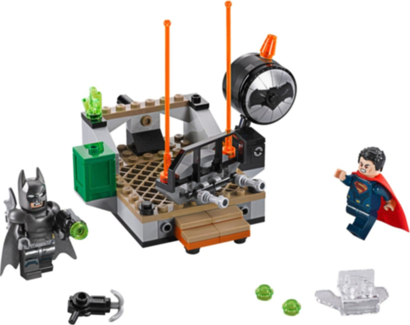 LEGO® DC Superheroes Clash of the Heroes components
