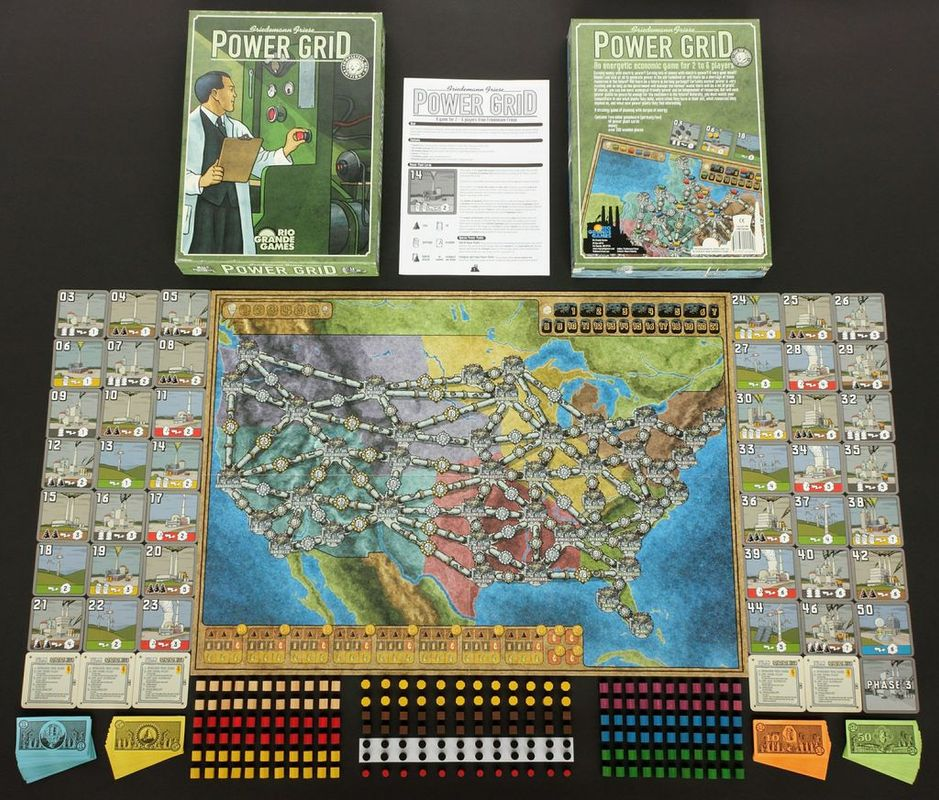 Power Grid components