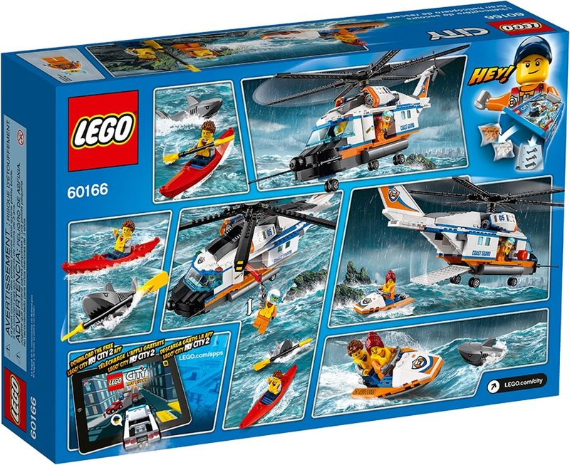 LEGO® City Heavy-duty Rescue Helicopter back of the box
