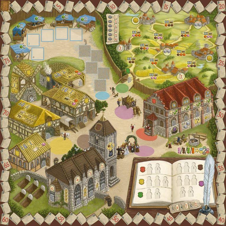 Village game board