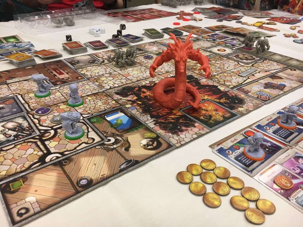 Arcadia Quest: Fire Dragon gameplay