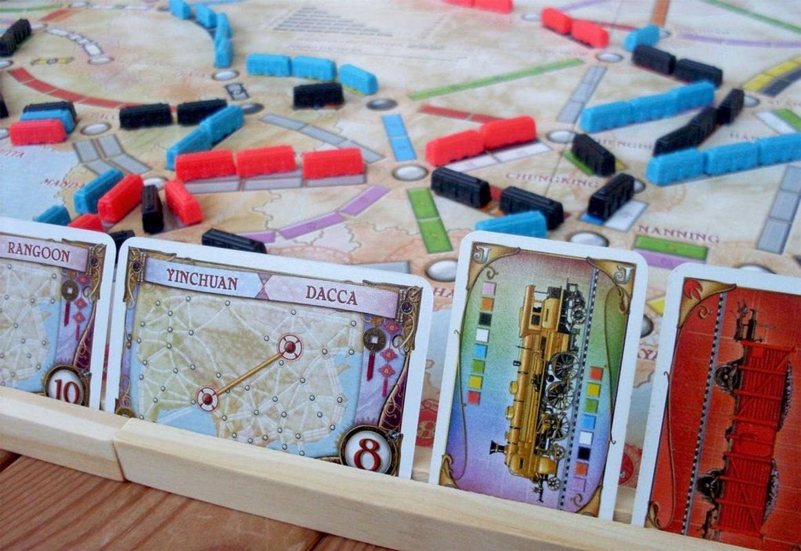 Ticket to Ride Map Collection: Volume 1 - Team Asia & Legendary Asia gameplay