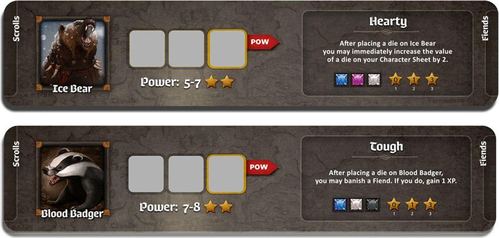 Roll Player: Fiends & Familiars carte