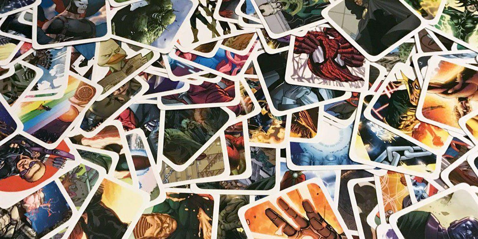 Codenames: Marvel cards