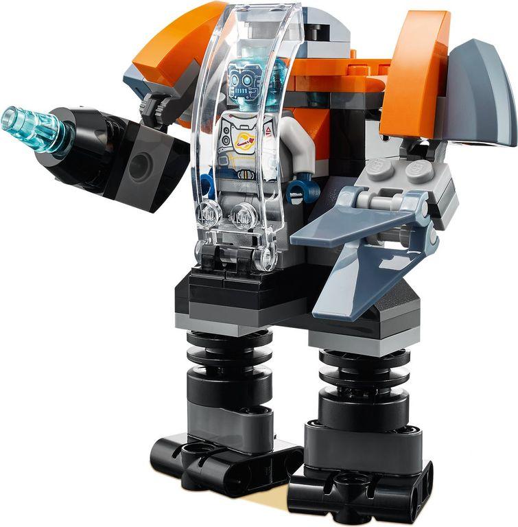 LEGO® Creator Cyber Drone components