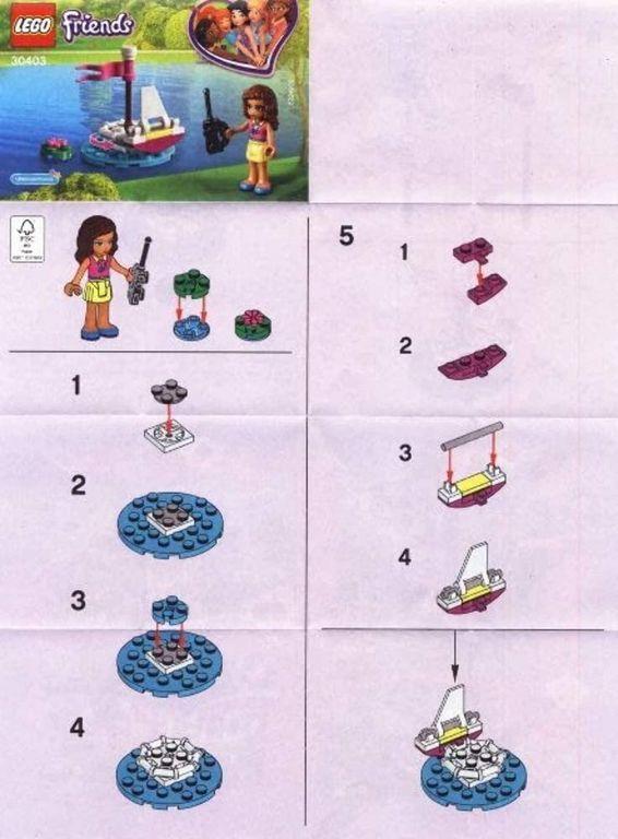 LEGO® Friends Olivia's Remote Control Boat manual