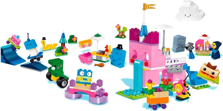 LEGO® Unikitty! Unikingdom Creative Brick Box gameplay