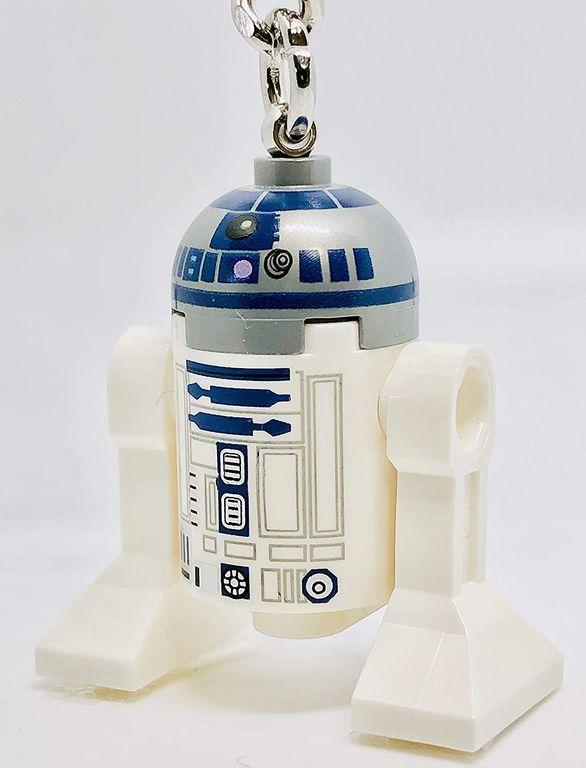 LEGO® Star Wars R2-D2™ Key Chain components
