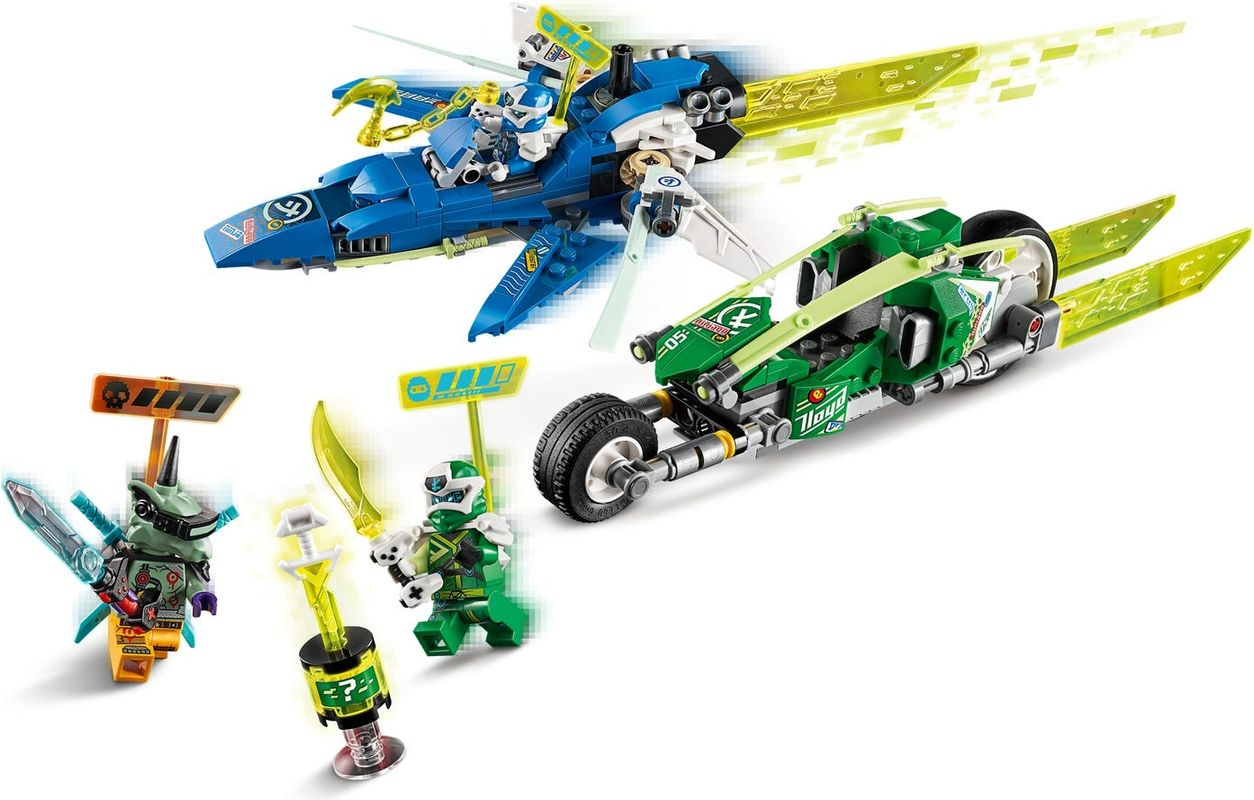 Jay and Lloyd's Velocity Racers components