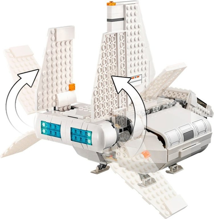 LEGO® Star Wars Imperial Landing Craft components
