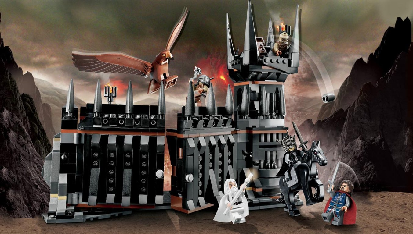 LEGO® The Lord of the Rings The Battle of the Black Gate gameplay