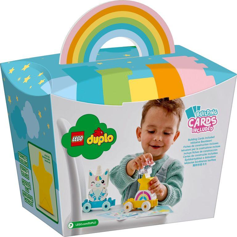 LEGO® DUPLO® Unicorn back of the box