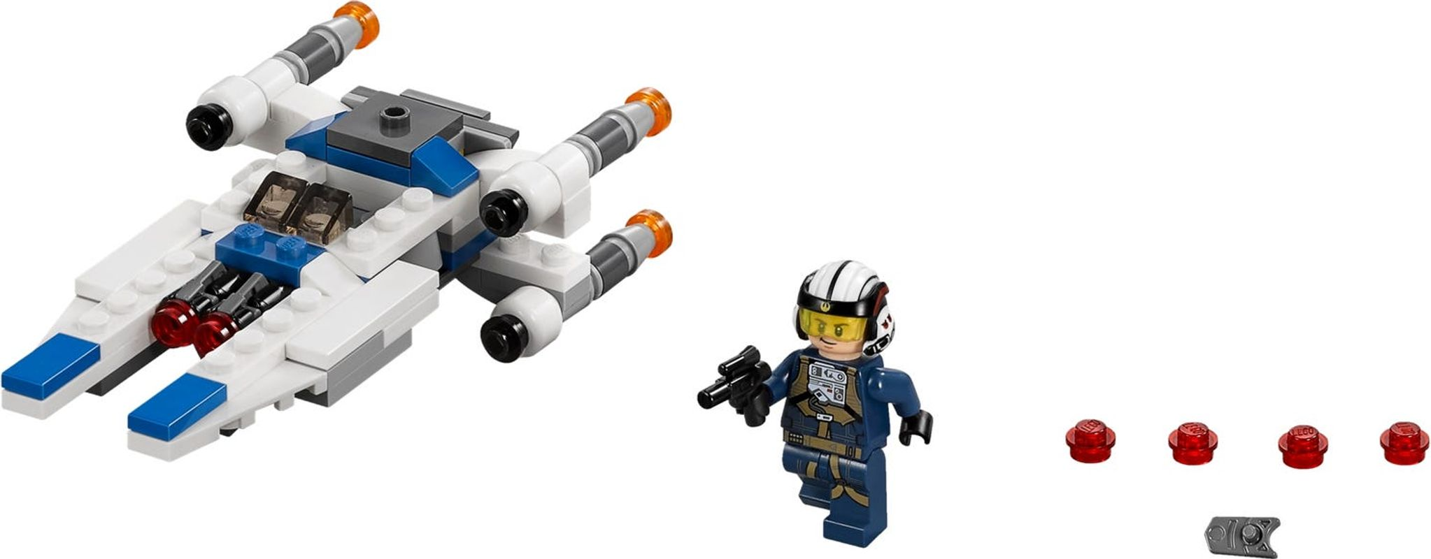 U-Wing™ Microfighter components