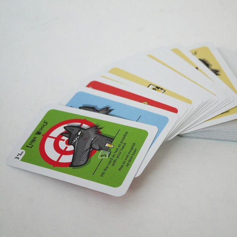 Booz Mooz: The Woolf Pack cards