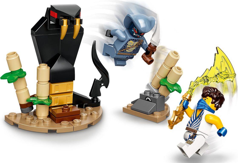 LEGO® Ninjago Epic Battle Set - Jay vs. Serpentine gameplay