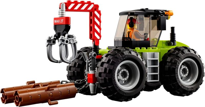 Forest Tractor components