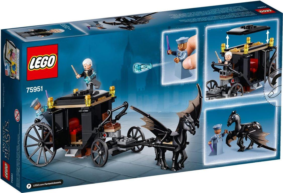 LEGO® Harry Potter Grindelwald's Escape back of the box