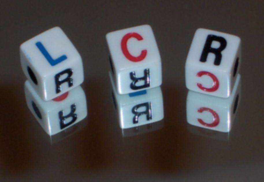 LCR dice