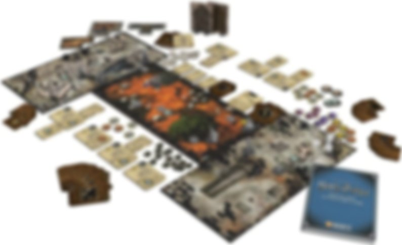 Harry Potter Miniatures Adventure Game components