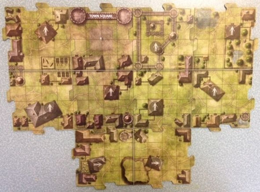 Dungeons and Dragons: Temple of Elemental Evil components