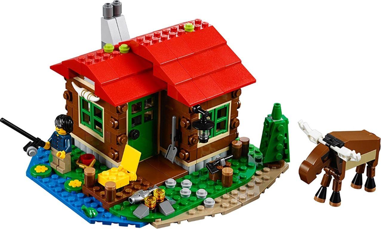 LEGO® Creator Lakeside Lodge components