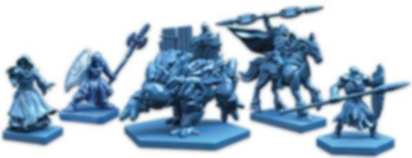 BattleLore (Second Edition): Hernfar Guardians Army Pack miniatures